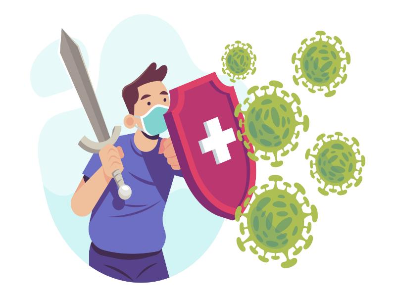 Mobile Apps Fight Coronavirus