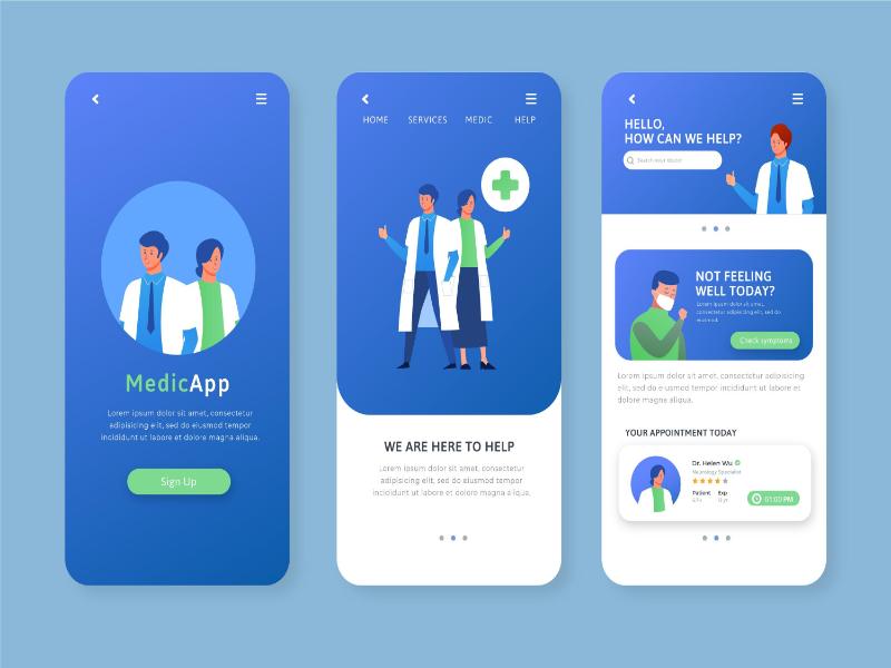 best medical app developers