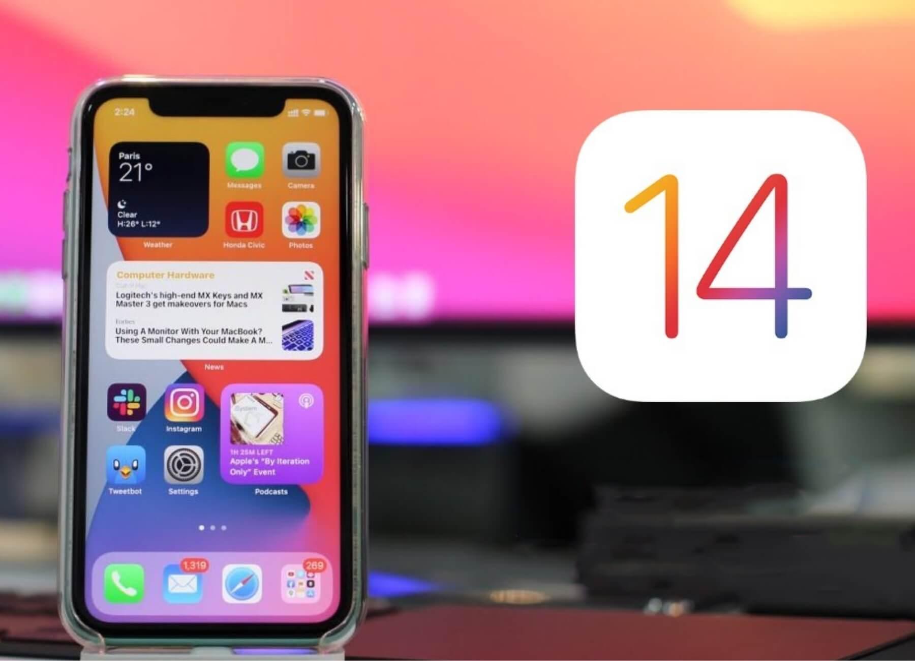 New Update of Ios 14 beta 3