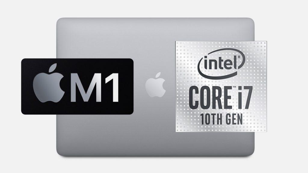 Apple's M1 Chip vs Intel Core i7