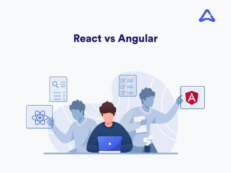 React vs Angular for Mobile App Development
